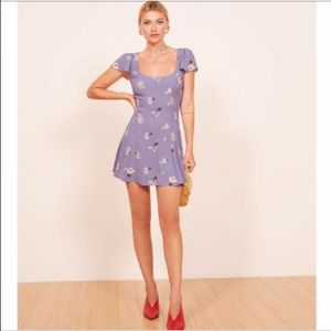 HP Reformation Emory Mini Dress in Cordelia floral